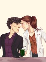 30DOTP-Sherlolly-Day29-Doing something sweet by lexieken