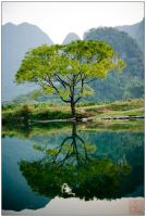 Yangshuo - Mirror by superkev