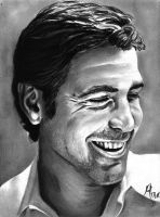 George Clooney by qshera