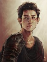 gladiator chanyeol by genicecream
