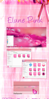 Elune PinK Theme for Windows 7 by Rachid7Hmid