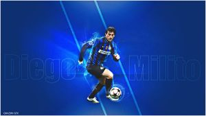 Diego Milito by Ghazwi-Mohamed