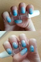 Frozen nails by Che-xi