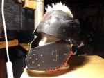Leather Orc Helmet by LeTrefle