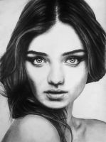 Miranda Kerr Portrait by Callumfoot