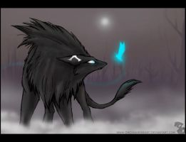 _WhoThere_ by greyanimebeast
