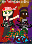 Jade and Ray Promo Poster 2.0 by CreativeArtist-Kenta