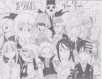 Soul Eater Characters by 88Death-The-Kid88
