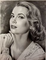 Grace Kelly-golden era 10th by Hongmin