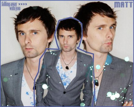 Matthew Bellamy - Blue. by Alice-Cullen93
