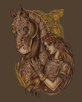 Epona  by dpdagger