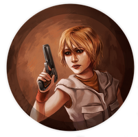 Silent Hill 3 - Heather by curry23
