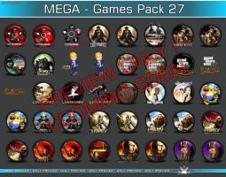 Mega GamesPack 27 preview by 3xhumed