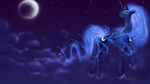 December draw-off: Luna Wallpaper by LaWeegie