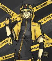 Bee Humanized by AmmyxDante