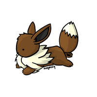 1. Eevee by ninjazzy