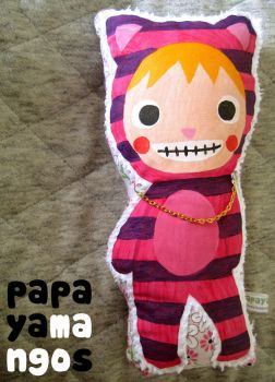 cheshire cat plushie by sadisticima