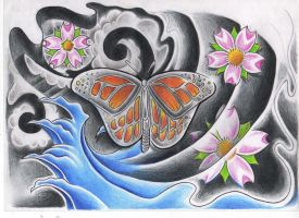 butterfly by WillemXSM