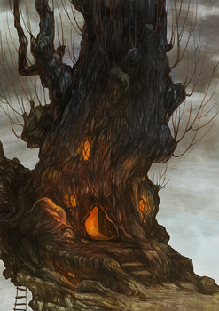 The tree house by Shaienny