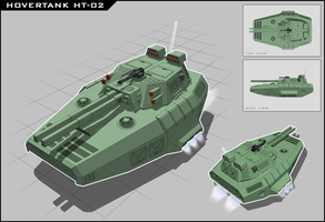 Hovertank HT-02 by vpRaptor