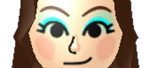 my mii in diff colours by PurpleIsMint
