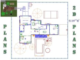 2D house plans that I designed. by JillyyBean