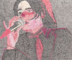 Gerard In Pointillism by AmyTheFreak