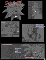 Meeting the Werehog pg. 20 by Mitzy-Chan