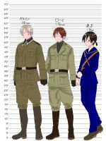 Capitalia: Axis Height Chart +Formal Military Form by Akiraka-chan