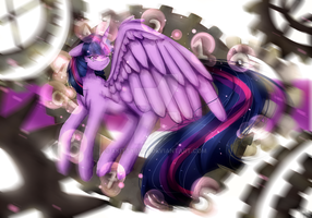 MLP The Twilight Effect (Commission) by xKittyblue