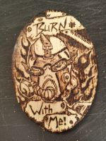 Krieg Pyrography by Mehdals