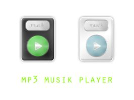 mp3 player FULL PSD resource by eEl886