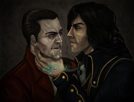 We can't keep meeting like this... -color- by N23
