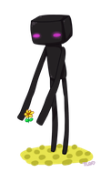 MC:  Cutie Lil Enderman by TheLonelyQueen