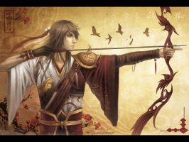 Water Margin- Hua Rong by Yue-Iceseal