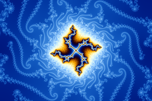 Mandelbrot Swastica II by stardust4ever