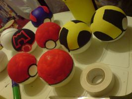 Project Pokeballs by wilterdrose