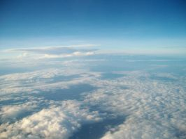 Sky from Above 3 by bumimanusiastock