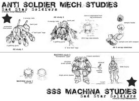 SSS EM and AS concept studies by Messymaru
