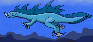 Sea Monster of Neptune by Zethasaurus