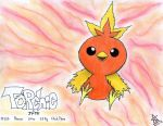 Chick Torchic by TheAngelux22