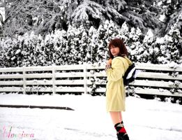 Kanon Cosplay: Pure Snows by Umeiwa