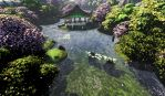 Chinese Garden by HTivey