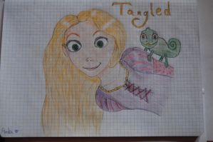 Tangled - Roszpunka for Vaileaa by Ambi2110