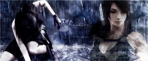 Tifa Lockheart -Rainy- by Dark6Nika