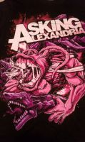 asking alexandria shirt by awsomeworld125