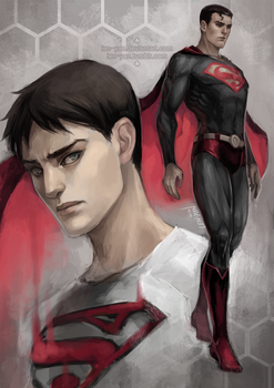DC: men of steel by len-yan