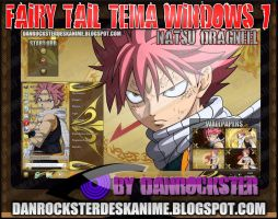 Natsu Dragneel Theme Windows 7 by Danrockster
