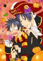 Happy Halloween - Aitsu No Daihonmei by ChibiStarProductions