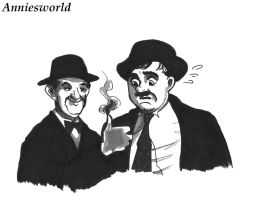 Laurel and Hardy by Anniesworld